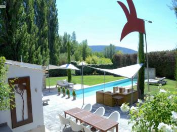 Ferienhaus Pool - Oppede - Les Cerisiers - Luberon Provence