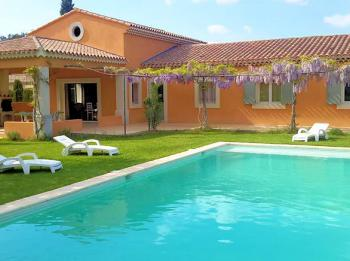 Ferienvilla Pool - Les Taillades - Sous les oliviers - Luberon Provence