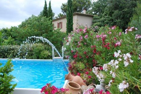 Bed and breakfast mit pool in der Provence