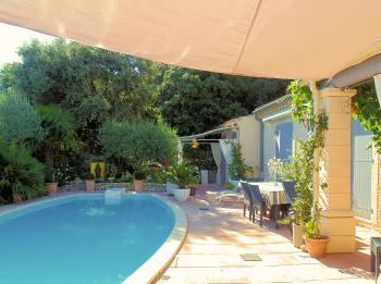 Bed & Breakfast in der Provence in einer Villa mit Pool